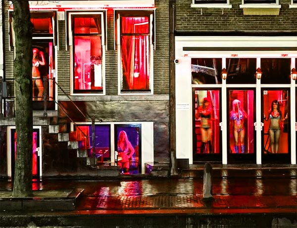Panák svlékací Red Light District ženy
