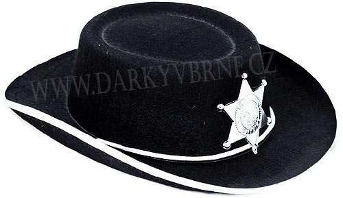 Klobouk šerif s hvězdou dětský bde33573fe
