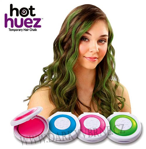 Barva na vlasy HOT HUEZ (Barvy jsou vhodné pro všechny typy (rov