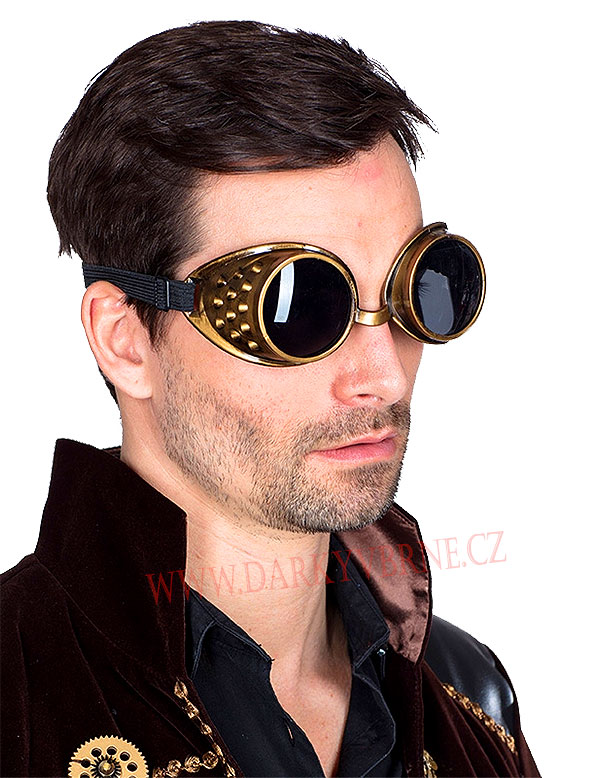 Brýle Steampunk Goggles
