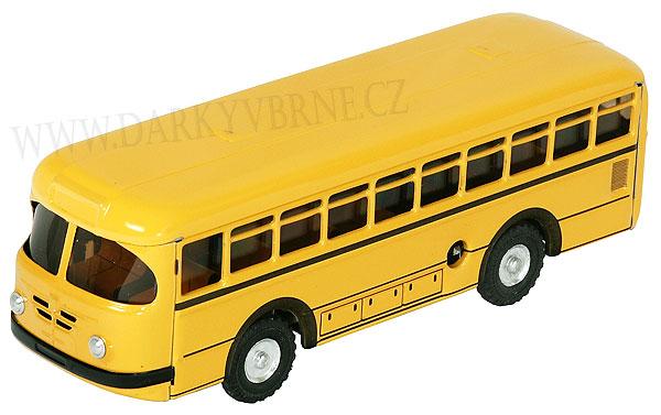 Autobus na klíček (Česká hračka. Model autobusu (1:43) z roku 19
