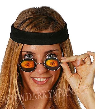 Brýle holografické lidské oči