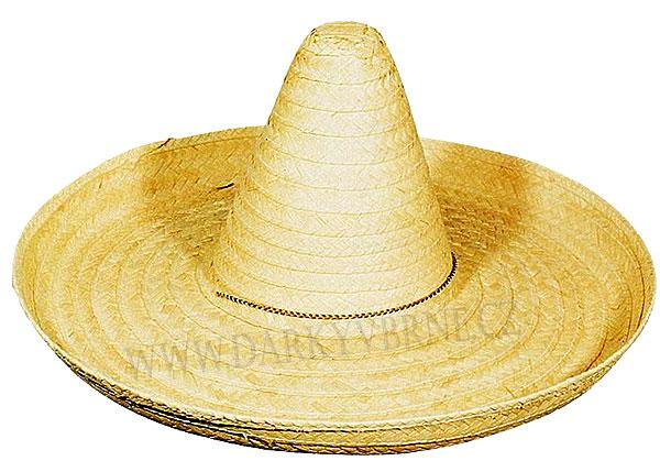 8e18c2dcaf6 Klobouk slaměný Mexický 50 cm